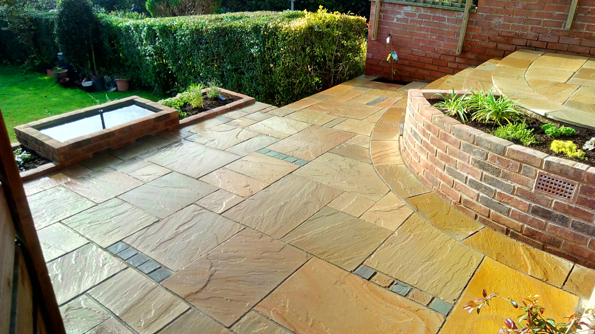 Garden Design Manchester city garden doctors: garden design and landscaping services